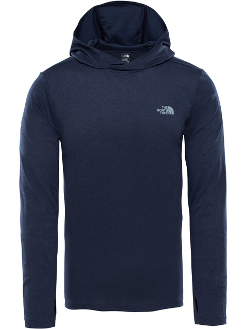 The North Face Reactor Hoodie Men Urban Navy Heather/Urban Navy